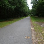Withlacoochee State Trail - Mile Marker 32 Looking North